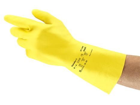 Ansell- ALPHATEC® 87-190 Kimyasal ve Sıvı Korumalı İş Eldiveni