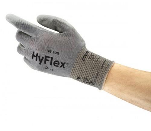 Ansell- - Ansell- Hyflex® 48-102 Sensilite Poliüretan Kaplı Hassas İş Eldiveni
