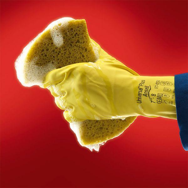 Ansell- ALPHATEC® 87-190 Kimyasal ve Sıvı Korumalı İş Eldiveni (Çift-7)