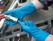 Ansell- ALPHATEC® 87-665 Kimyasal ve Sıvı Korumalı İş Eldiveni (Çift-9)