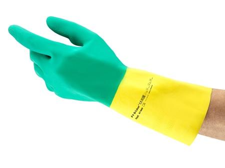 Ansell- - Ansell- ALPHATEC® 87-900 Kimyasal ve Sıvı Korumalı İş Eldiveni (Çift-10)