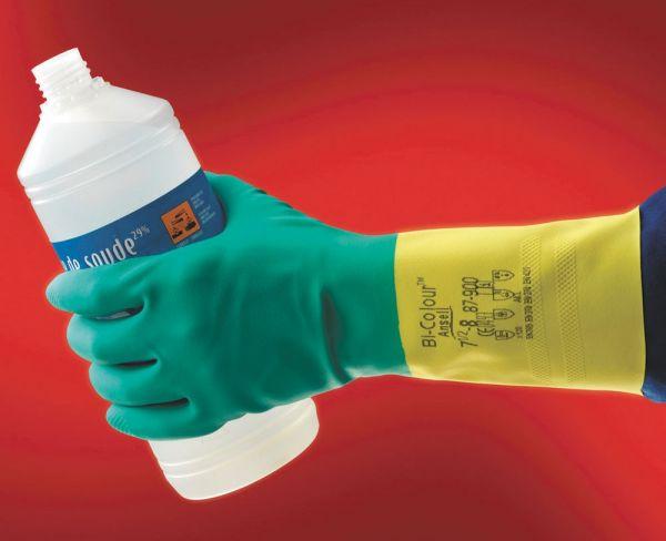 Ansell- ALPHATEC® 87-900 Kimyasal ve Sıvı Korumalı İş Eldiveni (Çift-9)