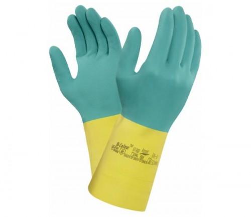 Ansell- - Ansell- ALPHATEC® 87-900 Kimyasal ve Sıvı Korumalı İş Eldiveni (Çift-8)