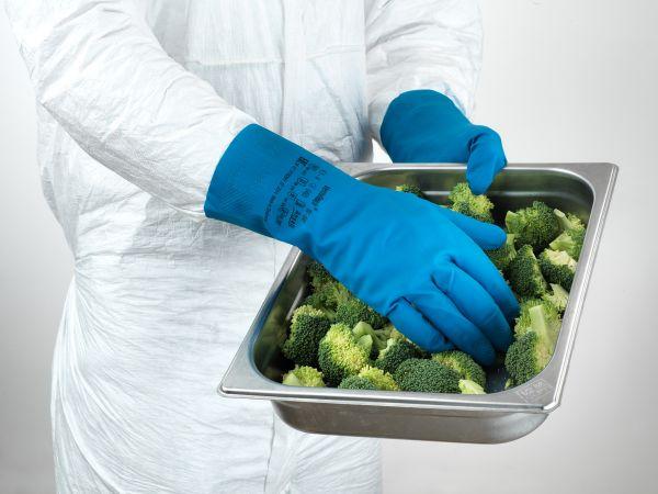 Ansell- ECONOHANDS® 87-195 Profesyonel Gıda İşleme Eldiveni (Çift-7)