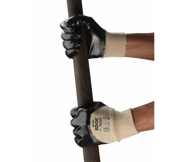 Ansell- EDGE® 48-501 Petrolcü ve Ağır İş Eldiveni (Çift-9)