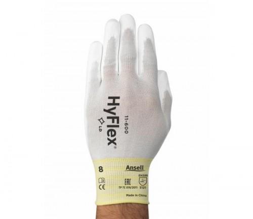 Ansell- - Ansell- HyFlex® 11-601 Hassas Montaj Eldiveni (Çift-6)