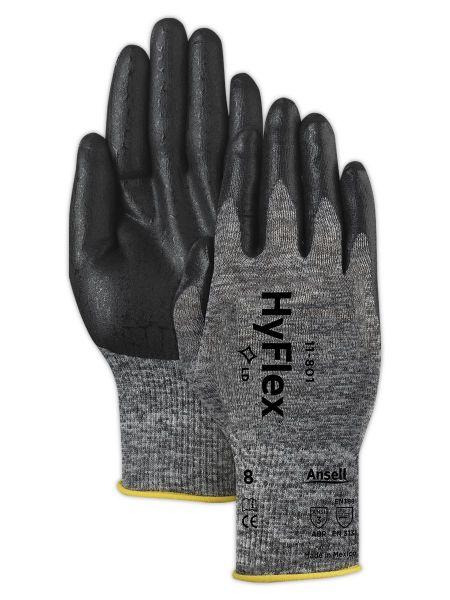 Ansell- HYFLEX® 11-801 Köpük Nitril Mekanik ve Çok Amaçlı Montaj Eldiveni (Çift-10)