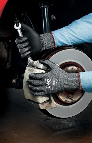 Ansell- HYFLEX® 11-801 Köpük Nitril Mekanik ve Çok Amaçlı Montaj Eldiveni - Thumbnail