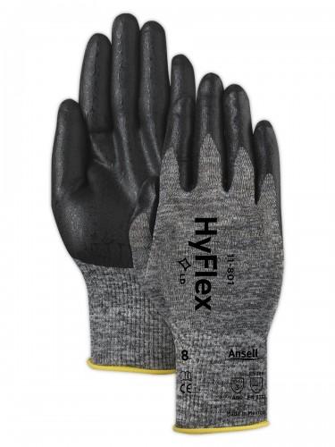 Ansell- HYFLEX® 11-801 Köpük Nitril Mekanik ve Çok Amaçlı Montaj Eldiveni (Çift-11) - Thumbnail
