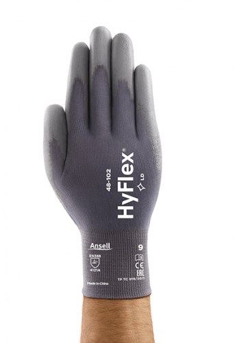 Ansell- Hyflex® 48-102 Sensilite Poliüretan Kaplı Hassas İş Eldiveni - Thumbnail