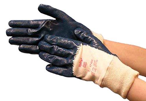 Ansell- HYLITE® 47-400 Nitril Kaplı Atık Toplama ve Montaj Eldiveni (Çift-10) - Thumbnail