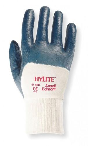 Ansell- - Ansell- HYLITE® 47-400 Nitril Kaplı Atık Toplama ve Montaj Eldiveni (Çift-10)