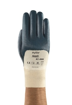 Ansell- HYLITE® 47-400 Nitril Kaplı Atık Toplama ve Montaj Eldiveni - Thumbnail