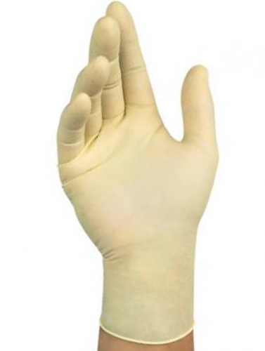 Ansell- Microflex® 63-864 Doğal Kauçuk Lateks Kimyasal ve Sıvı Koruyucu Eldiven (M) 100lü Paket - Thumbnail