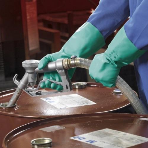 Ansell- SOLVEX® 37-675 Kimyasal ve Sıvı Korumalı Antistatik İş Eldiveni (Çift-7) - Thumbnail