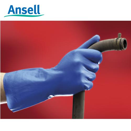 Ansell- VIRTEX® 79-700 Mavi Nitril Kimyasal ve Sıvı Korumalı İş Eldiveni (Çift-8) - Thumbnail