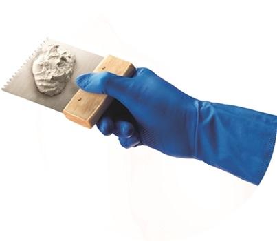 Ansell- VIRTEX® 79-700 Mavi Nitril Kimyasal ve Sıvı Korumalı İş Eldiveni - Thumbnail