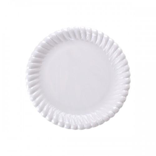 Beyaz Karton Tabak 18 cm - Thumbnail