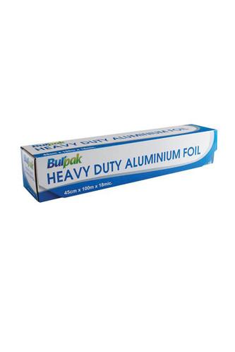 Burpak - Burpak Heavy Duty Alüminyum Folyo 45cm x 100 m 17,5mic 1 Adet