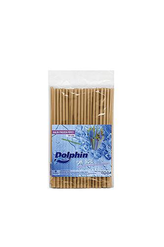 Kullan At Market - Dolphin Frozen Pipet Altın 22cm x 8mm 100lü