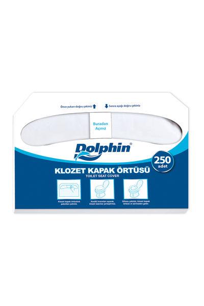 Dolphin Kağıt Klozet Kapak Örtüsü 250li