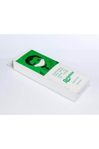 Dolphin Kağıt Maske 100lü