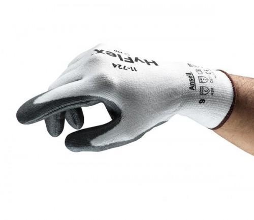 Ansell- - HyFlex® 11-724 Mekanik Koruma Kesilmez Eldiven (Çift-9)