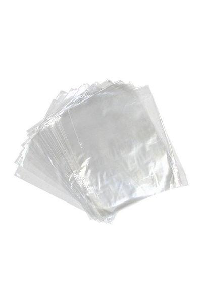 Plastik Şeffaf Bakkaliye Poşeti 30 X 52cm (5 Kiloluk) 1kg