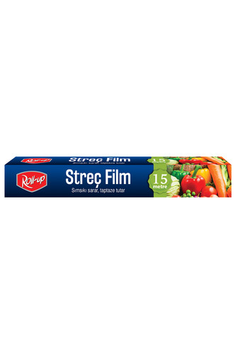 Roll-Up - Roll-Up Streç Film 30cm x 15 m 1 Adet