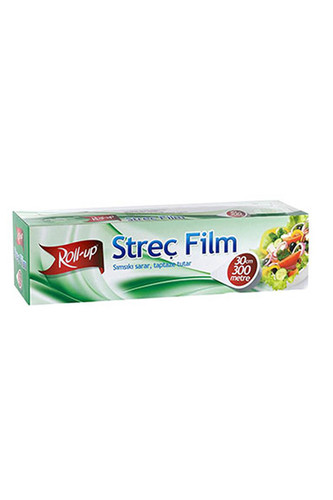 Roll-Up - Roll-Up Streç Film 30cm x 300 m 1 Adet