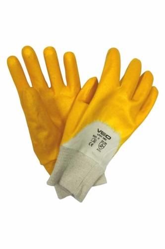 Kullan At Market - Veo 3002/10 Sarı Nitril Genel Kullanım İş Eldiveni 1 Çift (Beden-9)