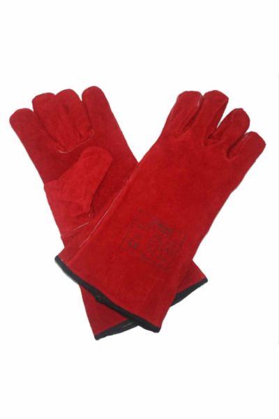 Veo F537 Kırmızı Kaynakçı Eldiveni Extra 1 Çift (Beden-10)